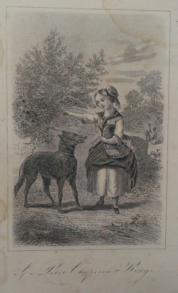 "Unknown illustrator, ""Le Petit Chaperon Rouge"" in Perrault, Contes des Fées, c. 1863 – c. 1901."