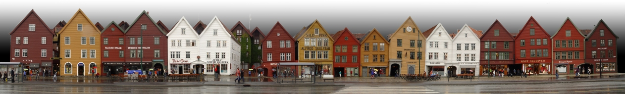 Brygge, Norway. Wikimedia Commons.