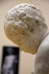 Fig 9: Closeup of Cupid by François Duquesnoy