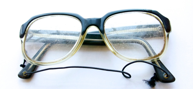 Father's spectacles. Shared by Arnold Zable. Image by Lucy Burnett.