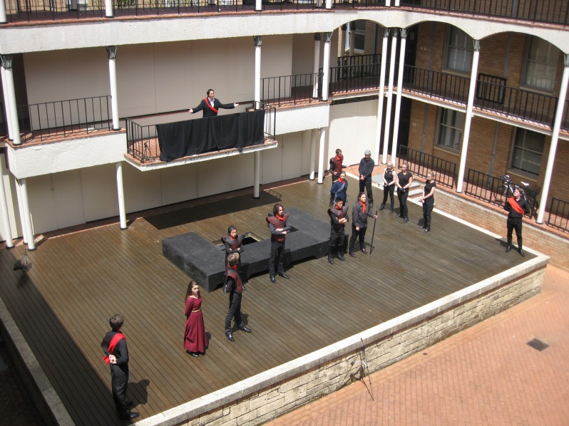 Figure 13: From the second floor.