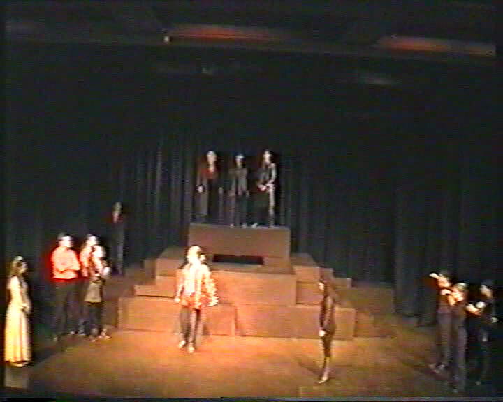 Figure 5: Dolphin Theatre at UWA. The 1997 production opening scene.