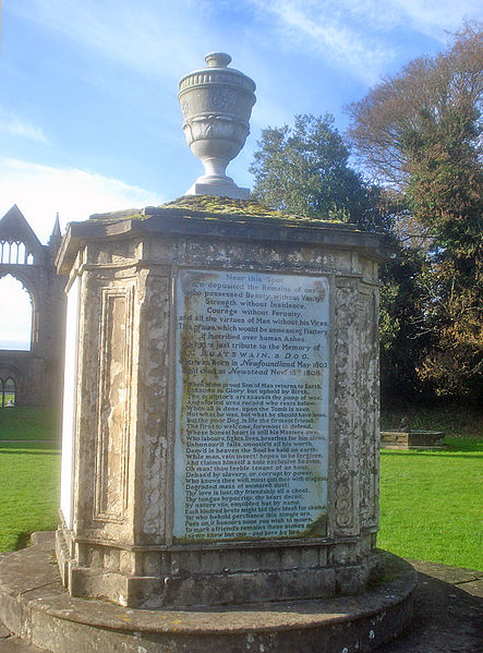 Boatswains_Monument_at_Newstead_Abbey_(geograph_1663101)