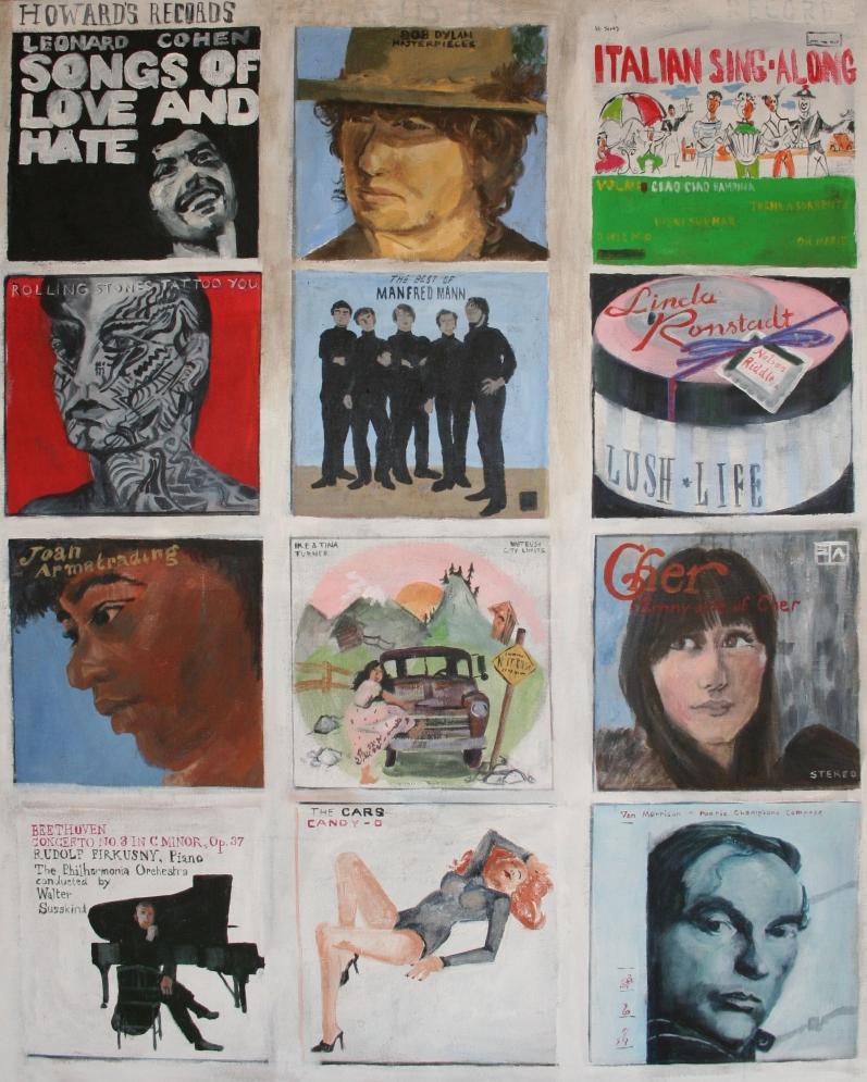 LJ howard's records