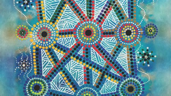 """""""Songlines"""" the NAIDOC 2016 Poster"""