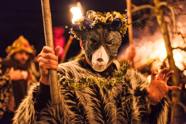 Wassailing. Photo by Natalie Mendham. Used with the kind permission of the Huon Valley Mid-Winter Fest