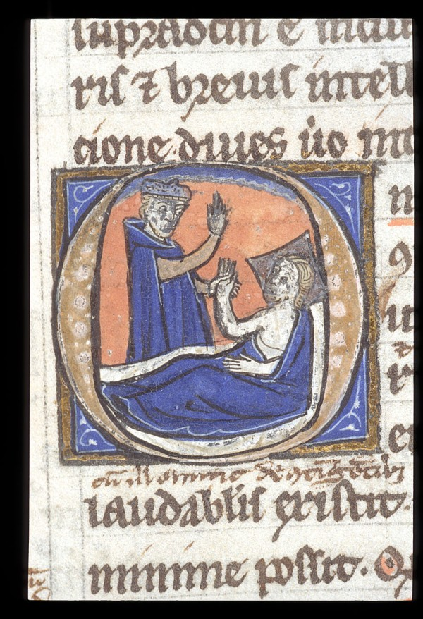 Medical texts, known as the 'Articella'. France, 14th c. BL Harley 3140 f. 29. Image Courtesy of the British Library.