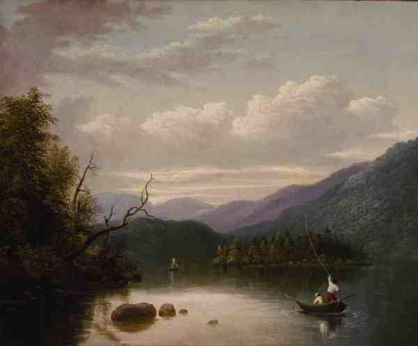 Image: Thomas Doughty, In the Adirondaks, c. 1822-30. Terra Foundation for American Art, Daniel J. Terra Collection.