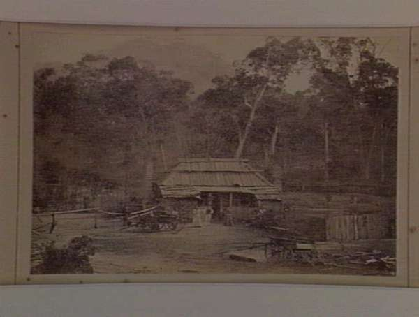 Settler's Residence, Grampians, by Christopher B. Herbert, c. 1880. Image Courtesy of the State Library of Victoria.