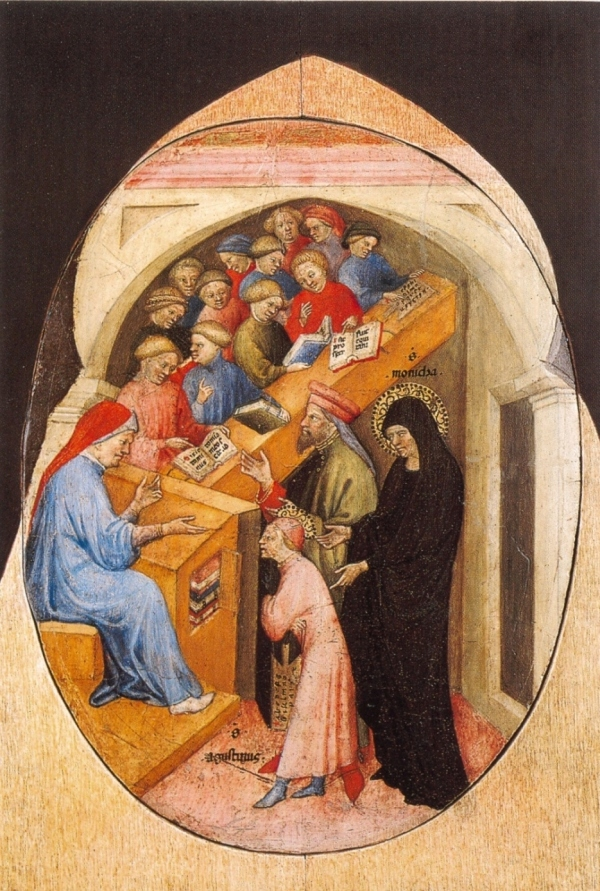 The Saint Augustine Taken to School by Saint Monica.
