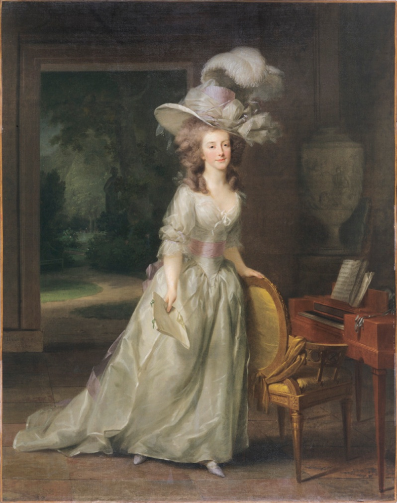 Louise, as princess of Orange