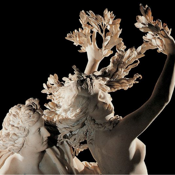 Apollo and Daphne by Giancarlo Bernini.