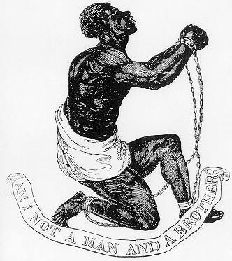 Figure 1. 'Am I Not A Man And A Brother? Medallion crafted as part of anti-slavery campaign by Josiah Wedgwood, 1787. Courtesy of Wikimedia Commons.