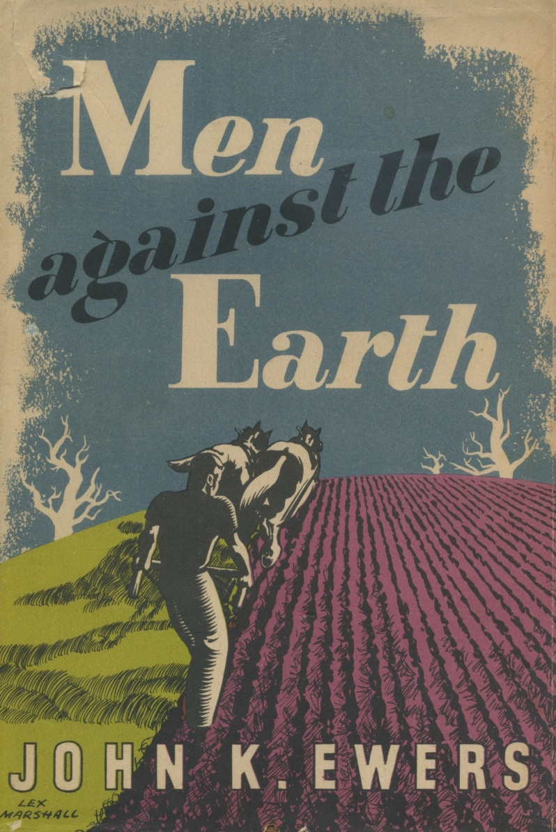 men against the earth