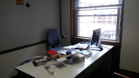 My temporary office at UWA.