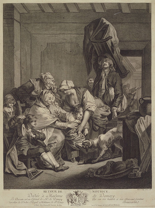 Jean-Baptiste Greuze, The Return From the Wet-Nurse