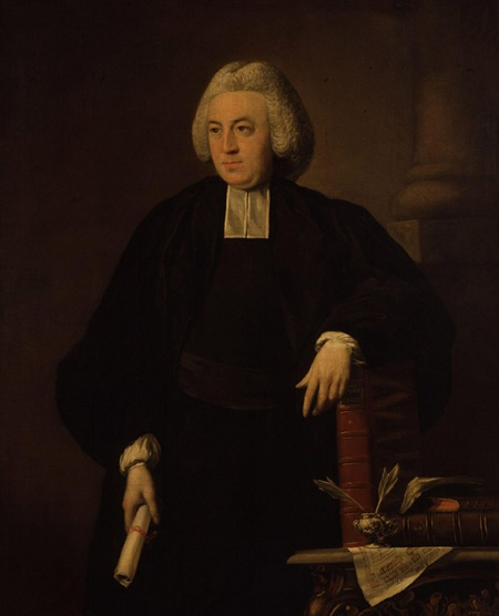 John Russell, portrait of William Dodd