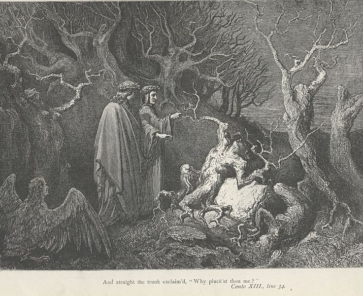 Image by Gustove Dore from Dante's Inferno